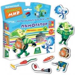 фото Игра развивающая на магнитах Vladi Toys «Фикси-мир. Помогатор»