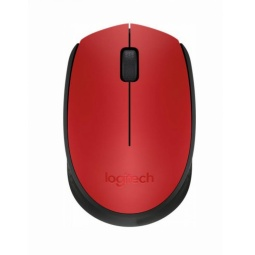 фото Мышь Logitech M171 Wireless Mouse USB. Цвет: красный