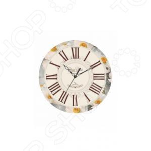Часы настенные Вега П 1-245/7-245 часы вега п 1 247 7 247 желтые тюльпаны