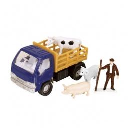 фото Набор игровой для мальчика HTI для перевозки животных «Фермерский». Цвет: синий