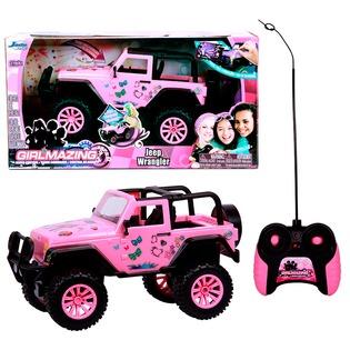 Купить Автомобиль на радиоуправлении 1:16 Jada Toys Jeep Wrangler 2014
