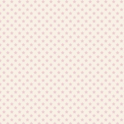 фото Отрез ткани Tilda Звезды. Цвет: розовый