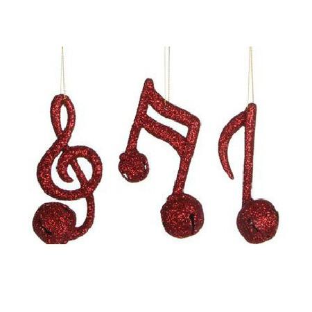Купить Елочное украшение Christmas House «Музыкальные ноты»