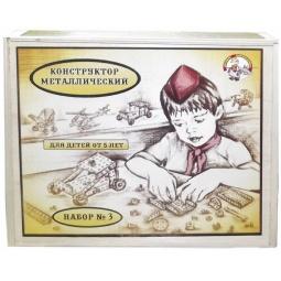 фото Конструктор металлический Десятое королевство «Для уроков труда №1» в деревянной упаковке