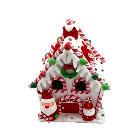 Купить Декорация с подсветкой Crystal Deco «Пряничный домик» 1707928