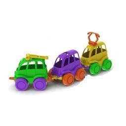 фото Набор машинок игрушечных Нордпласт «Общественный транспорт. Нордик»