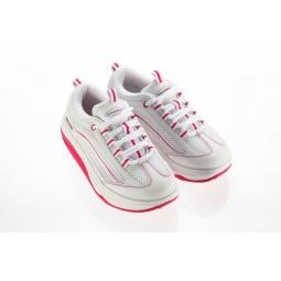 Купить Кроссовки Walkmaxx 2.0. Цвет: белый, розовый
