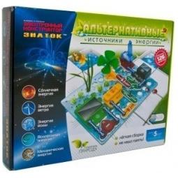 Купить Конструктор электронный Знаток «Альтернативные источники энергии»
