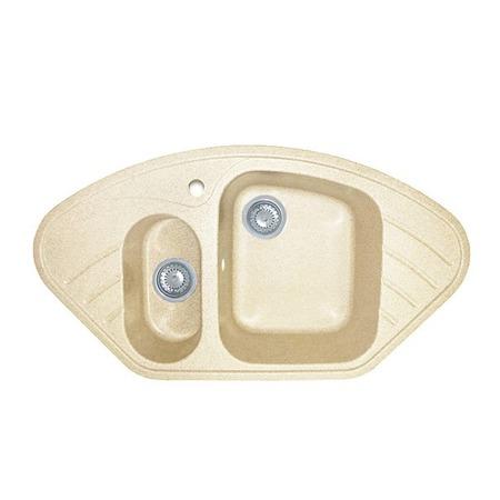 Купить Мойка кухонная GranFest Corner GF-C960E. Цвет: бежевый