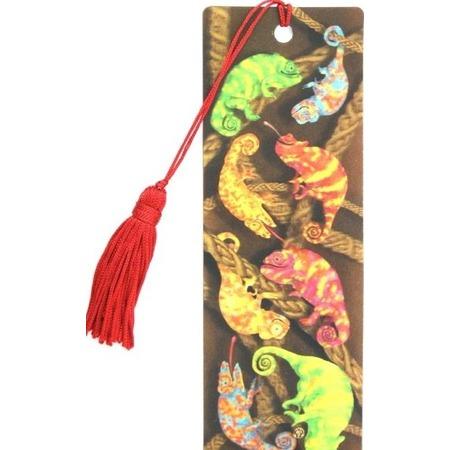 Купить 3D-закладка для книг Липуня «Хамелеоны»