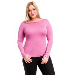 фото Кофта Mondigo XL 1470. Цвет: темно-розовый. Размер одежды: 48