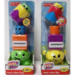 фото Игрушка развивающая Fisher Price Кубики-блоки с сюрпризами. В ассортименте