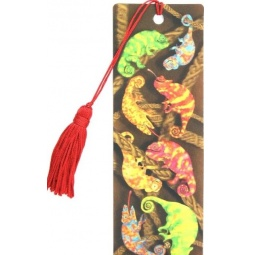 фото 3D-закладка для книг Липуня «Хамелеоны»