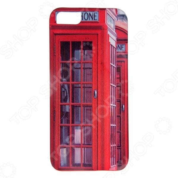 Чехол для iPhone 5 Mitya Veselkov «Будка в Лондоне»