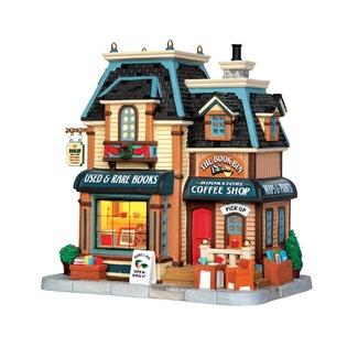 Купить Домик керамический Lemax «Книжный магазин»