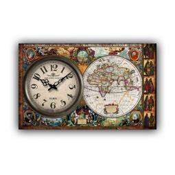 фото Часы настенные Феникс-Презент «Глобус»