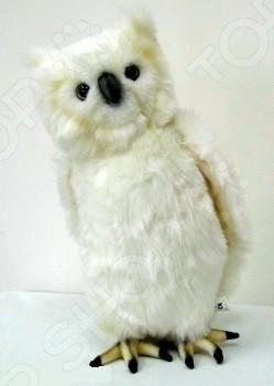 Мягкая игрушка Hansa «Сова белая» 3719 сонная сова игрушка вязанная