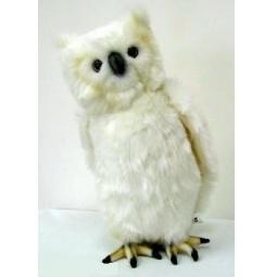 фото Мягкая игрушка Hansa «Сова белая» 3719