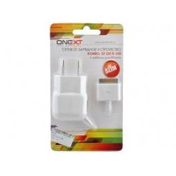 фото Устройство зарядное сетевое комбо USB SLIM Onext