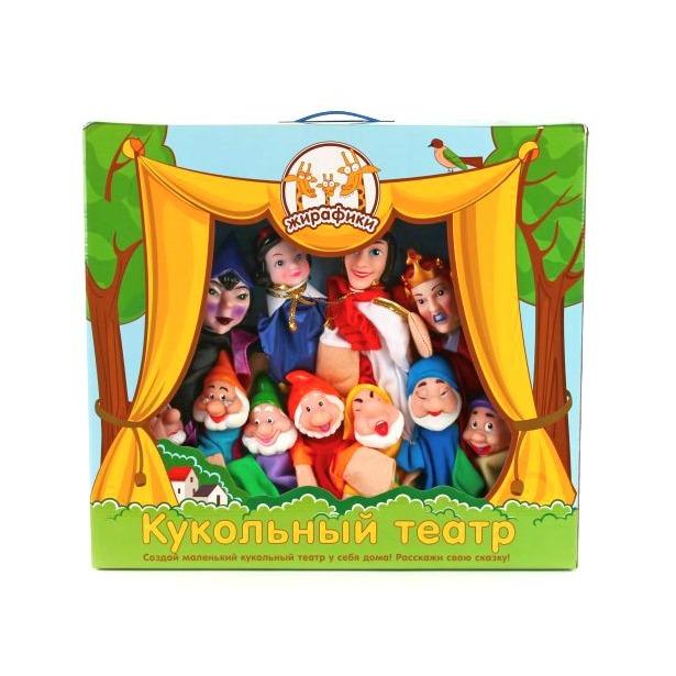 фото Набор для кукольного театра Жирафики «Белоснежка» 68352