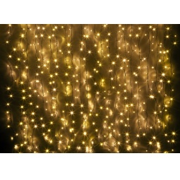 фото Гирлянда электрическая Holiday Classics «Световой занавес. Магия света». Цвет: желтый. Количество лампочек: 850