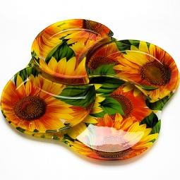 фото Набор: тарелки и тортовница Mayer&Boch MB-23906