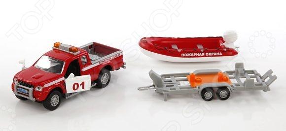 Модель коллекционная Пламенный Мотор Mitsubishi «Пожарная охрана»