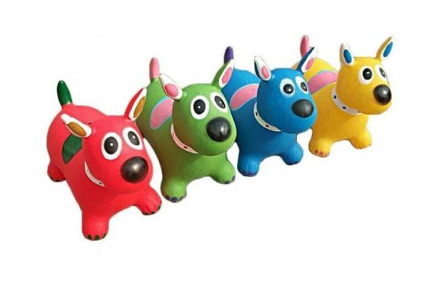 Игрушка-попрыгунчик Shantou Gepai «Собака». В ассортименте игрушка для ванны наша игрушка попрыгунчик в ассортименте