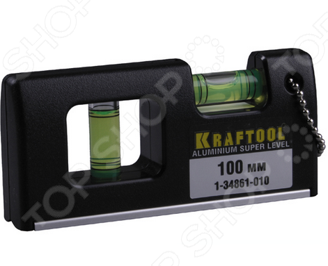 Уровень Kraftool Pro «Мини» 1-34861-010 плоская кисть kraftool klassik 1 01013 25