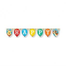 Купить Гирлянда детская Procos «Винни-Пух и Пятачок-Happy Birthday»