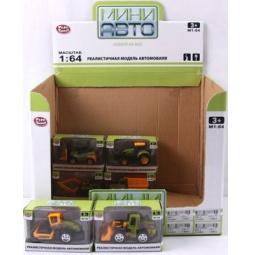 фото Машинка игрушечная PlaySmart «Строительная техника» Р41156. В ассортименте