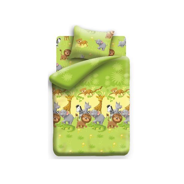 фото Детский комплект постельного белья Непоседа Сафари