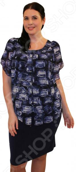 Платье Klimini ДанаПовседневные платья<br>Платье Klimini Дана это стильное платье, которое поможет вам создавать невероятные образы, всегда оставаясь женственной и утонченной. Благодаря полуприталенному силуэту оно скроет недостатки фигуры и подчеркнет достоинства. В этом платье вы будете чувствовать себя блистательно как на работе, так и на вечерней прогулке по городу. Интеллигентная длина, ниже колена, и зауженная к низу юбка зрительно вытягивают фигуру и делают платье одеждой на все случаи жизни, а короткие рукава скрывают полноту руки обеспечивают комфорт в течении всего дня. Вырез горловины визуально удлиняет шею и расставляет акценты формируя женственный силуэт. Швы обработаны текстурированными, эластичными нитями, благодаря чему швы тянутся и не натирают. Платье изготовлено из плотной ткани 35 вискоза, 60 полиэстер, 5 спандекс , благодаря чему материал не скатывается и не линяет после стирки. Даже после длительных стирок и использования платье будет выглядеть прекрасно.<br>