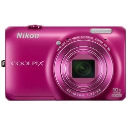 фото Фотокамера цифровая Nikon CoolPix S6300. Цвет: розовый