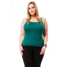 фото Майка Mondigo XL 551. Цвет: темно-зеленый. Размер одежды: 52