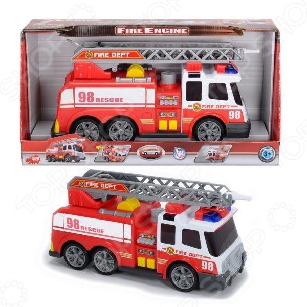 Машинка со светозвуковыми эффектами Dickie «Пожарная машина» экономичность и энергоемкость городского транспорта