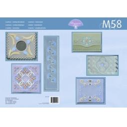 Купить Набор схем для парчмента Pergamano M58 Рисуем красками Tinta 2