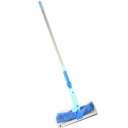 Купить Щетка для мытья окон 2 в 1 с телескопической ручкой и поворотным шарниром Hausmann ADF1768