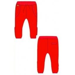фото Брюки для мальчиков трикотажные Ёмаё. Цвет: красный. Размер: 32. Рост: 134 см