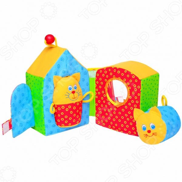 Мягкая развивающая игрушка Мякиши «Кошкин дом» мультиварка polaris pmc 0537d 860 вт 5 л черный