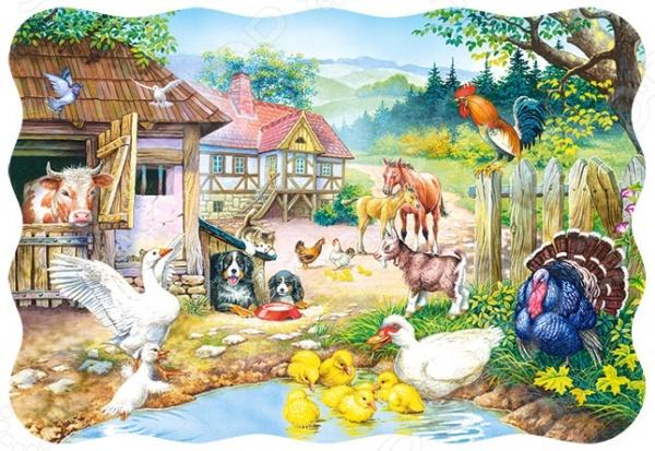 Пазл 30 элементов Castorland «Ферма»