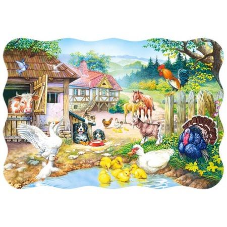 Купить Пазл 30 элементов Castorland «Ферма»