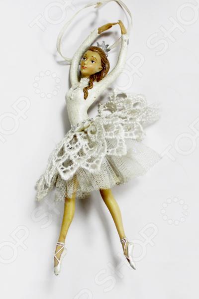 Елочное украшение-подвеска Crystal Deco «Балерина» 1707812
