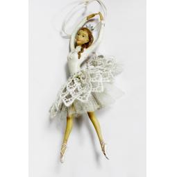 фото Елочное украшение-подвеска Crystal Deco «Балерина» 1707812