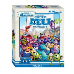 фото Пазл 260 элементов Step Puzzle Pixar. Университет Монстров