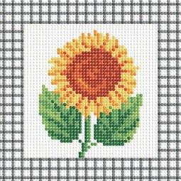 фото Набор для создания мозаики Белоснежка «Желтый подсолнух»