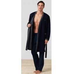 фото Халат мужской BlackSpade 7300. Цвет: темно-синий. Размер одежды: L-XL