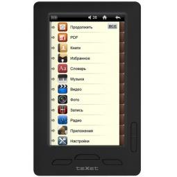 фото Книга электронная TEXET 430 HD TB