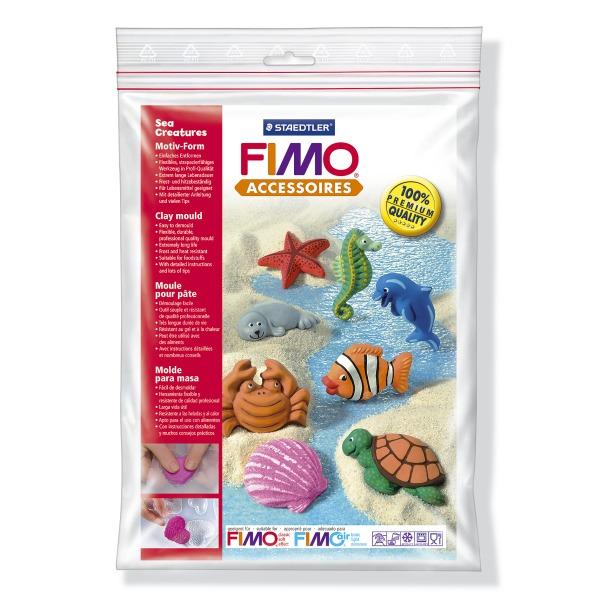 фото Набор формочек для лепки Fimo «Морские существа»