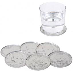 Набор подставок под стаканы Balvi Coin$